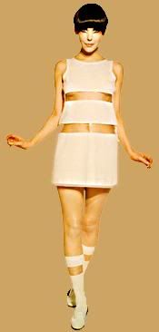 Retro Fashion The model Peggy Moffitt. Photographer unknown (but I remember this dress well! via Fabric Croissant Vintage: Fashion 60s Fashion Trends, 60 Fashion, Sixties Fashion, Fashion History, Retro Fashion, Fashion Models, Vintage Fashion, Fashion Outfits, Womens Fashion