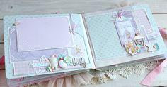 Baby Album, Mini Scrapbook Albums, Beautiful Babies, Embellishments, Diy And Crafts, Frame, Cards, Scrap Books, Paper Craft