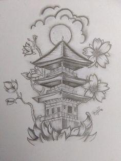 Insane Tattoos, Full Arm Tattoos, Arrow Tattoos, Small Tattoos, Chinese Sleeve Tattoos, Buddah Sleeve Tattoo, Sketch Style Tattoos, Tattoo Sketches, Tattoo Drawings