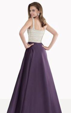 A-Line Long Gown by Tarik Ediz 92666
