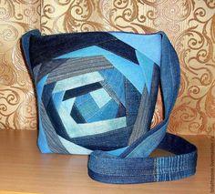 Crazy quilt style bag