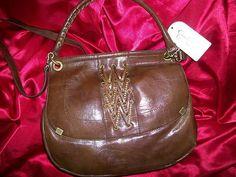 Jessica Simpson Walnut Brown Smash Hit   Handbag RETAIL 88.00