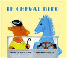 Le Cheval bleu. Image: Lucile Butel, d'après Nathan Hale