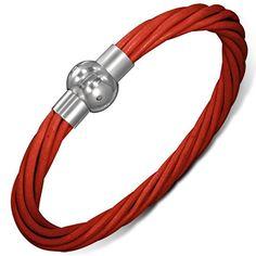 Bracelet homme Zense ZB0157. Matière : cuir. Longueur : 21 cm. Poids : 10 g.