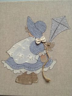 Sunbonnet Marzo Termoadesiva | Country Creations