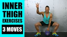 3 Slimming Inner Thigh Exercises - Learn how to perform them in this easy to follow video tutorial. Incorporate these moves into your thigh workouts!