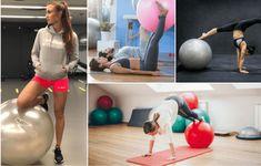 A 11 leghatékonyabb gyakorlat fitnesz labdával, a has formálásához Gym Equipment, Exercise, Fitness, Blog, Ejercicio, Excercise, Blogging, Work Outs, Workout Equipment