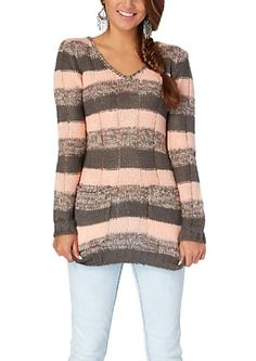 image of Chevron Tunic Sweater | Fashion | Pinterest | Tunic ...