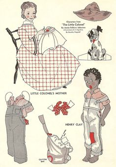 The Little Colonel from Wee Wisdom 2nd page. ..♥..Nims..♥