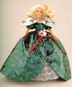 holiday barbie 1995