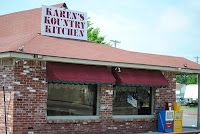 Karen's Kountry Kitchen...Collinsville, OK  The KKK. yikes.