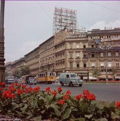 Oktogon, Budapest 1950's
