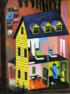 Leonard Weisgard - Nursery Tales, 1954