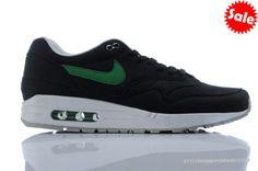 RYET Noir Vert Chaussure Nike Air Max 87 Homme 2014 496770