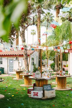 Colorful Handmade Phoenix Wedding by Arrow & Apple - via ruffled