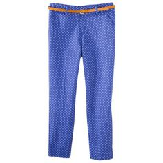 Merona® Women's Tailored Ankle Pant w/Belt (Fit 4) - Prints