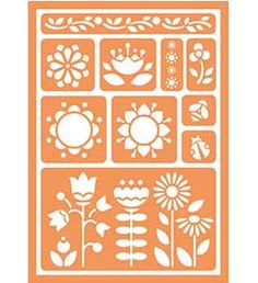 Handmade Charlotte New Peel + Stick Stencils In Michaels Stores Now - No Fail Crafting