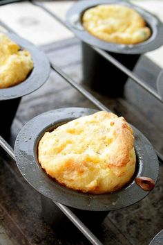 Sausage and Cheesy Hashbrown Popovers