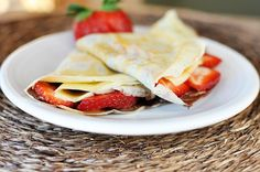The beauty of crepes is that they are so versatile. These homemade crepes can be made into sweet or savory combinations for a quick weeknight meal.