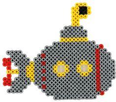 Submarine -- perler beads