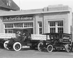 The Coca Cola Company Vintage 1920s 8x10 Reprint Of Old Photo