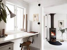Post: Encantadora casita nórdica con estudio externo --> blog decor, casita nórdica con estudio externo, casitas de campo nórdica, decoración en blanco, decoración escandinava sueca, decoración espacios pequeños, decoración nórdica, nordic style