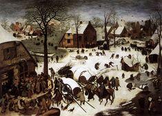 Pieter Bruegel de Oude: Volkstelling te Bethlehem