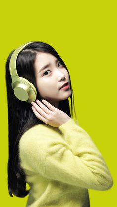 IUmushimushi — IU sony wallpapers cropped for mobile by. Girl With Headphones, Iu Twitter, Iu Fashion, Korea Fashion, New Poster, Korean Actresses, Kpop Aesthetic, Hyun Woo, Make Up Dupes