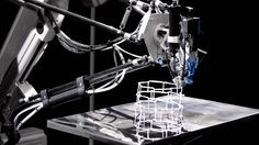 Just like a caterpillar, the 3D Cocooner spins delicate lightweight structures freely in space. With the help of a high-speed handling system, the spinneret ...