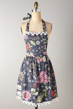 Butterfly Field Apron - anthropologie.com