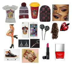 """Gryffindor school outfit"" by olivia-huffer on Polyvore"