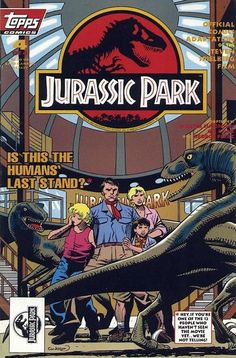 Original Comic Art titled Cockrum Jurrassic Park cover, located in TOM's from the Tom Smith coloring Vaults .pin ups , interior pages , & stuff Comic Art Gallery Jurassic Park Trilogy, Jurassic Park 1993, Jurassic World 2015, Jurassic World Dinosaurs, Dinosaur Photo, Dinosaur Art, Jurassic World Wallpaper, Jurrassic Park, Movie Poster Art