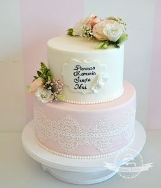 First Communion Party, First Holy Communion, Birthday Cakes, Holi, Cake Decorating, Cupcakes, Cookies, Baking, Sweet