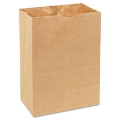 1/8 Bbl 57 Squat Paper Bag, Natural Grocery Sack, - http://ecofriendlyretailer.com/eco-home/18-bbl-57-squat-paper-bag-natural-grocery-sack/