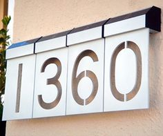 LED Solar House Numbers, $17.99 each. Fantastic idea. I hate driving in the dark and not being able to see house numbers.