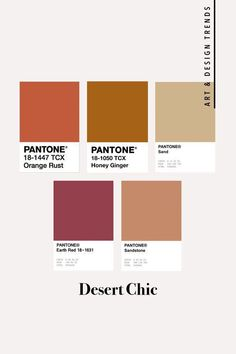 Refresh your home for the autumn season with nice colours - you will find interesting tips in our fall interior design guide! Pantone Colour Palettes, Pantone Color, Beige Pantone, Desert Colors, Autumn Colours, Beige Color Palette, Colour Palette Autumn, Palette Art, Autumn Interior