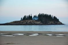 The island in the movie 'Message In a Bottle' many scenes filmed at Popham Beach, ME. I love this place.
