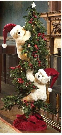 Christmas Tree bears