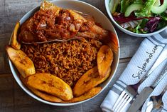 How to prepare Party Jollof Rice the Nigerian way. This is not just any jollof Rice recipe, this is the Nigerian Party Jollof Rice Recipe.