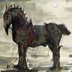 Trojan Horse | Kimbustion Album Art
