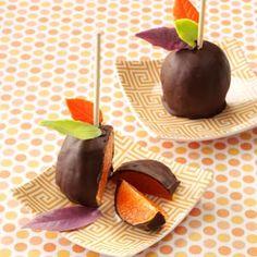 Chocolate Caramel Oranges Recipe