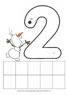 Fichas com Numerais 1 ao 5 Olaf  do Filme Frozen Numbers Preschool, Free Preschool, Preschool Worksheets, Olaf, Frozen Disney, Numeral 1, Bilingual Education, Math For Kids, Little Ones
