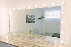 Photo Studio, Bathroom Lighting, Vanity, Mirror, Furniture, Home Decor, Bathroom Light Fittings, Dressing Tables, Bathroom Vanity Lighting