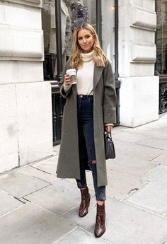 50 Brilliant Winter Outfits To Try This Year / 31 - Herren- und Damenmode - Kleidung Winter Fashion Outfits, Fall Winter Outfits, Autumn Winter Fashion, Casual Outfits, Cute Outfits, Winter Clothes, Casual Winter, New York Winter Outfit, Winter Style
