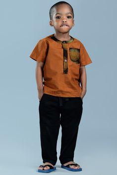 Cute stylish African boy #AfricanFashion #Africa #Hagereseb #AfricanPrints