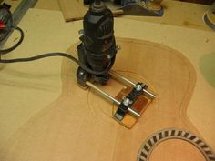 Inlay router jig