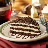 Olive Gardens Chocolate Lasagna. This was one of my all time favorite deserts and then they just went and took it away :(