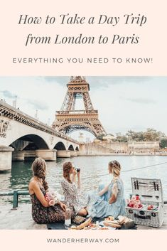 Thinking about taking a day trip from London to Paris? Thanks to the Eurostar, this trip could not be easier! Here's how to plan your day trip to Paris. Paris Travel Tips, London Travel, Travel Advice, Travel Ideas, Highgate Cemetery, Day Trips From London, A Day In Paris, Europe, London Calling