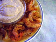 Grilled Shrimp with Remoulade Sauce