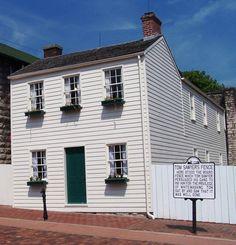 Hannibal, Missouri: home of Samuel Clemens